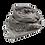 Thumbnail: Grigri Shiny Scarf / Grey