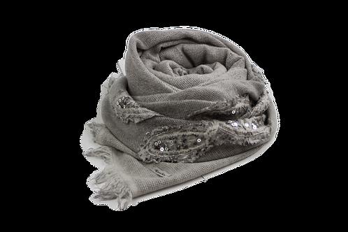 Grigri Shiny Scarf / Grey