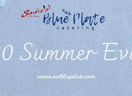 Catering Update Summer 2020