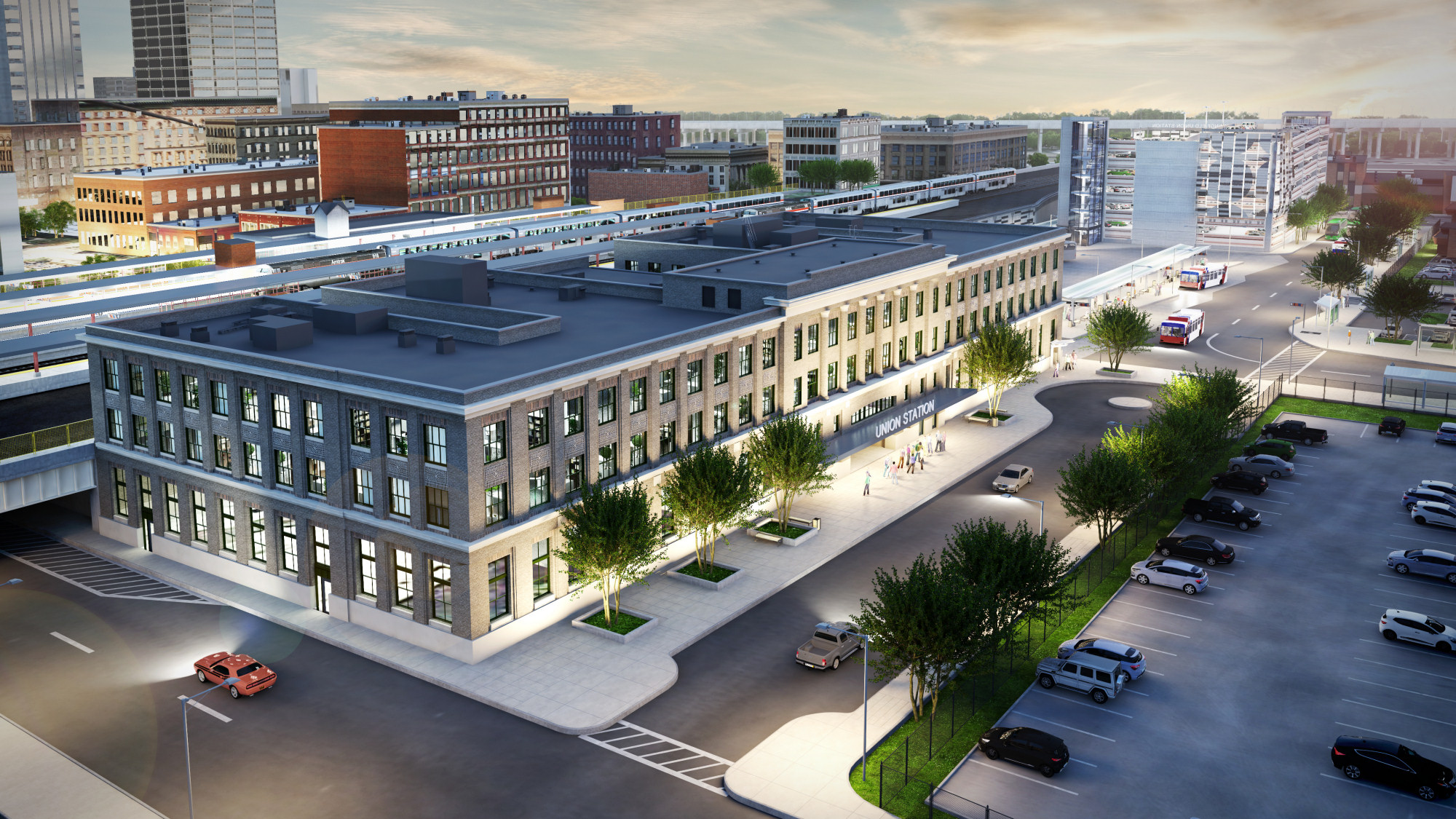 Springfield Union Station Rendering (Cou