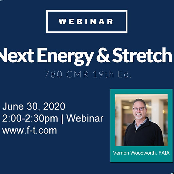 The Next Energy and Stretch Code: 780 CMR 10th Ed.