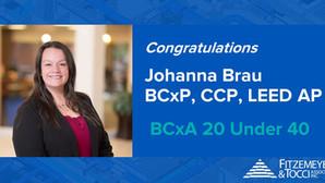 Johanna Brau, 2020 Recipient of BCxA 20 Under 40!