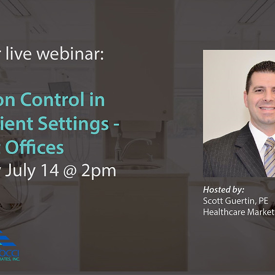 Infection Control in Outpatient Settings - Dentist Offices