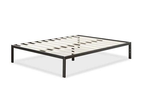 "14"" Platform Bed with Wood Slats, Full"