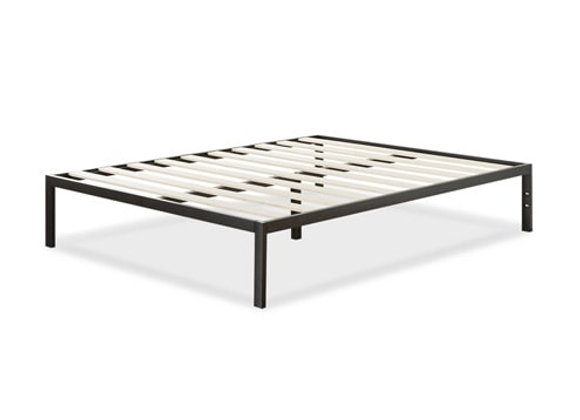 "14"" Platform Bed with Wood Slats, Full"
