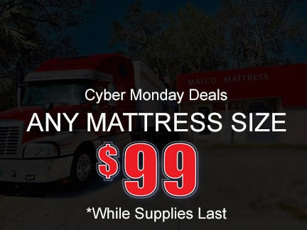 Cyber Monday Deals - 99$ Any mattress size!!!