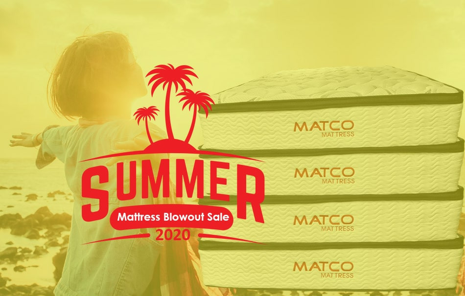 "LOCAL BIG SALE on ""Summer Mattress Blowout Sale"" at MATCO Mattress"