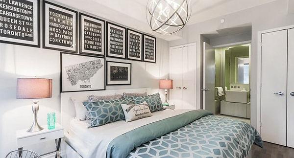 Bedroom - mattress decor