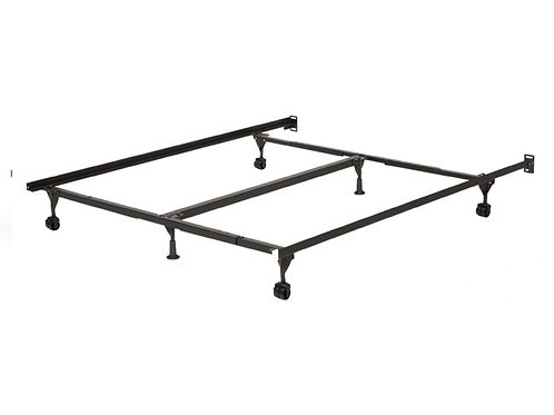 Metal Bed Frame with Glides - Queen & King & California King Size
