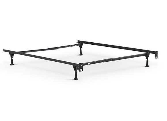 Metal Bed Frame with Glides - Twin & Twin XL & Full Size