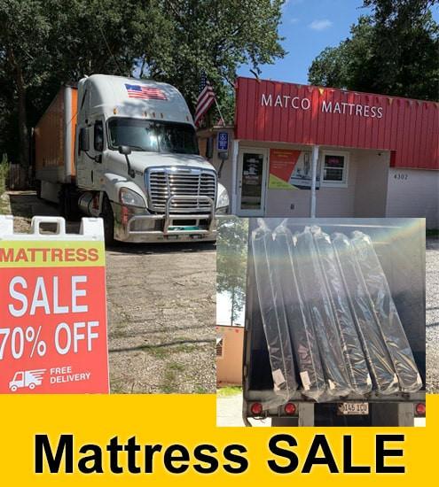 New Day, New Truck full of mattresses!