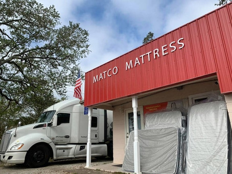 It's Monday! New mattresses in stock.