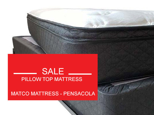Pillo top mattresses