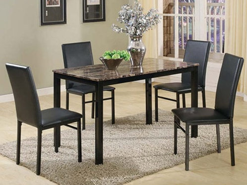 Aiden 5 piece Dining Set Table