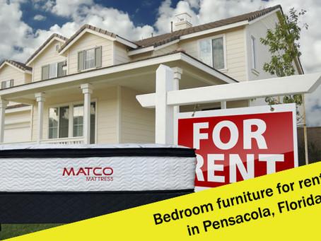 Bedroom furniture for rentals in Pensacola