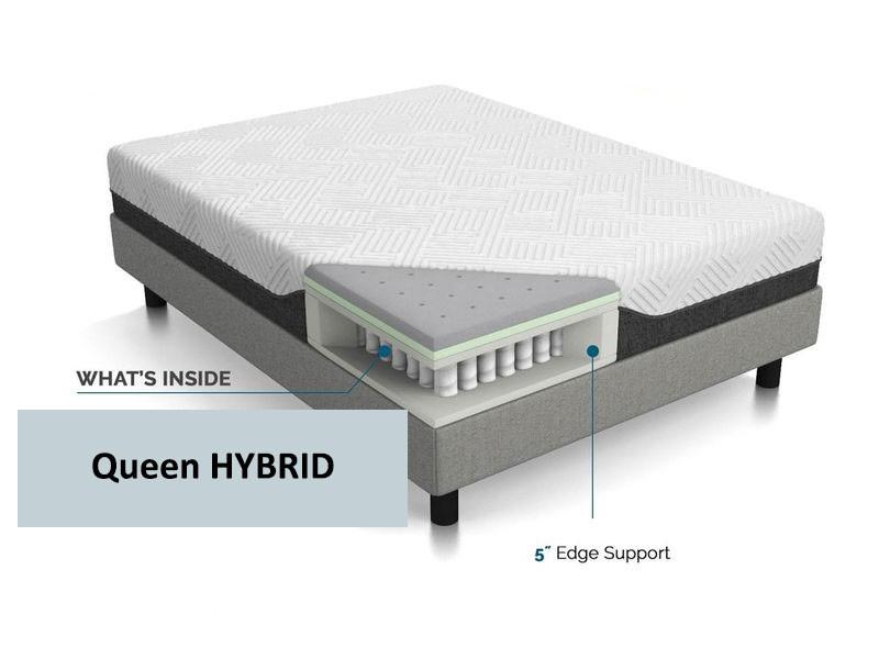 Queen hybrid mattress - Hybrid mattress