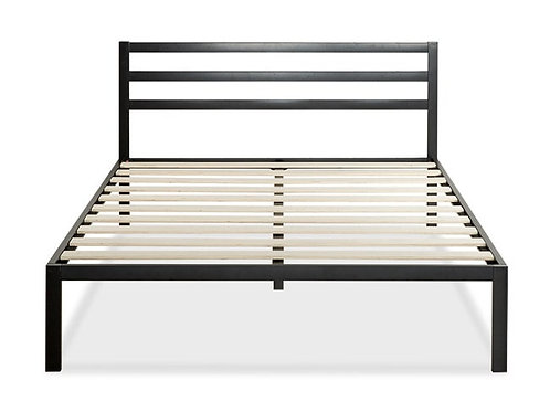 Mattress frame from metal