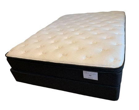 "Olivia 10"" Plush Euro Top Mattress"
