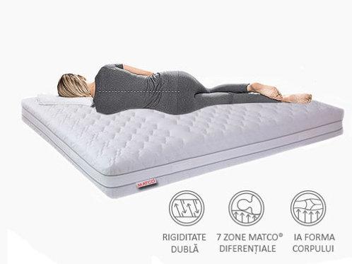 Saltea cu 7 zone de confort - MATCO® Memo7 22cm