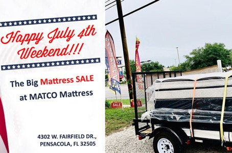 Full size Euro Top MATTRESS Just 110$ ***The Big MATTRESS SALE***