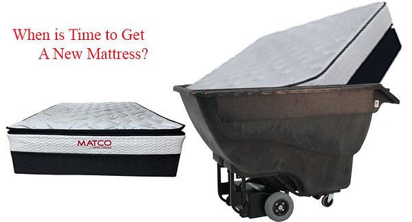 Time to get a new mattress