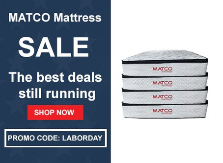 SALE: The best deals still running at MATCO Mattress