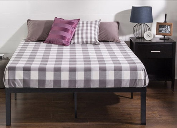 Metal Platform Bed 16 inches, King Size