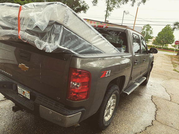 Pick up truck and mattress set in Pensacola, Fl