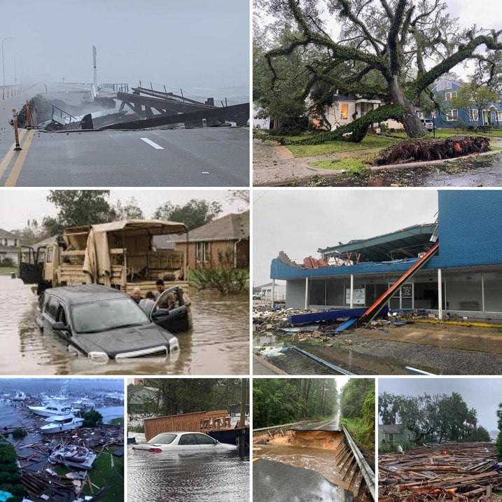 Hurricane Sally damage in Pensacola, Florida!