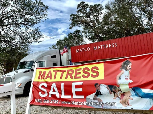 Mattresses on sale in Pensacola, Florida!