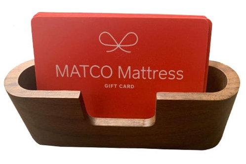 Gift Card - Matco Mattress