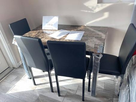 Aiden 5 piece Dining Set on SALE