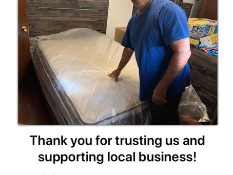 Thank you for supporting local business!