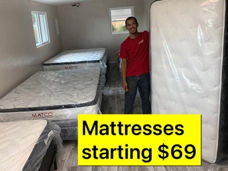 Brand new mattresses starting 69$