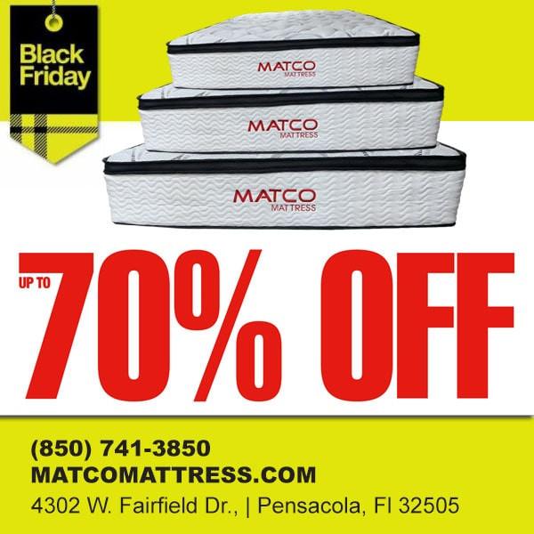 Find Best Black Friday Mattresses Deals in Pensacola, Florida!