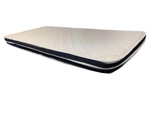 "Queen size euro top mattress pad 4"" ""UK"""