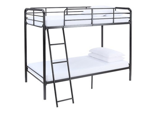 Bunk Bed Twin over Twin with Ladder H5ft