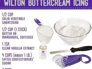 Homemade Buttercream Icing from Wilton