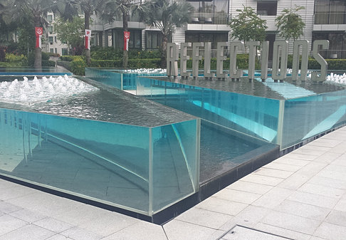 Acrylic Panel For Swimming Pool In Singapore