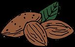 Baghera, le premier produit d'Enfin, contient des amandes et de la crème d'amandes