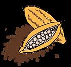 Baghera, le premier produit d'Enfin, contient du beurre et de la poudre de cacao