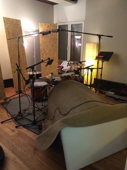 Drum Recording für SoloZuViert