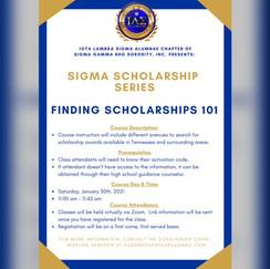 Sigma Scholarhip Series Social Media Sha