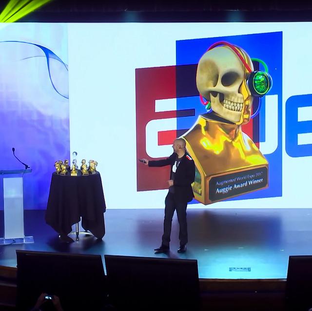 AWE Auggie Award 3D