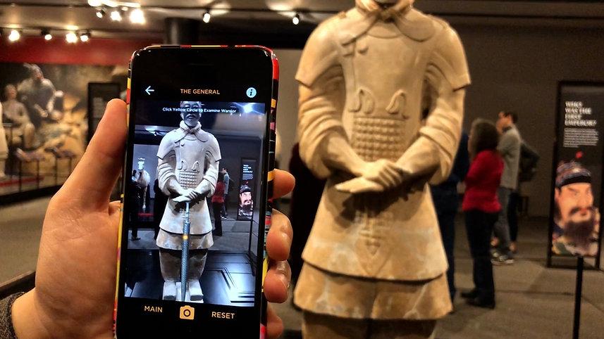 Terracotta Warriors AR - Statue Mode
