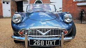 Daimler Dart classic Briish sports car