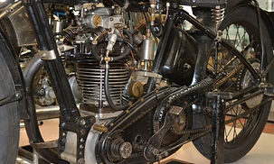 Velocette classic British motorcycle