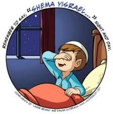 Say Shema at bedtime