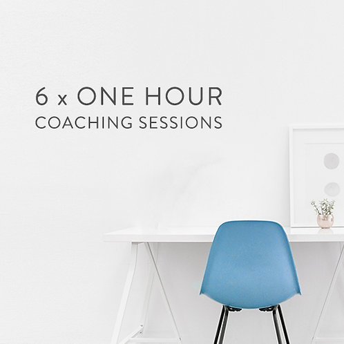 6 x Coaching Sessions
