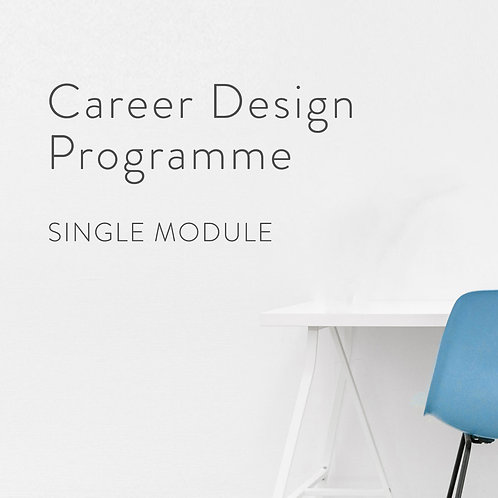 Career Design Programme - Module 01